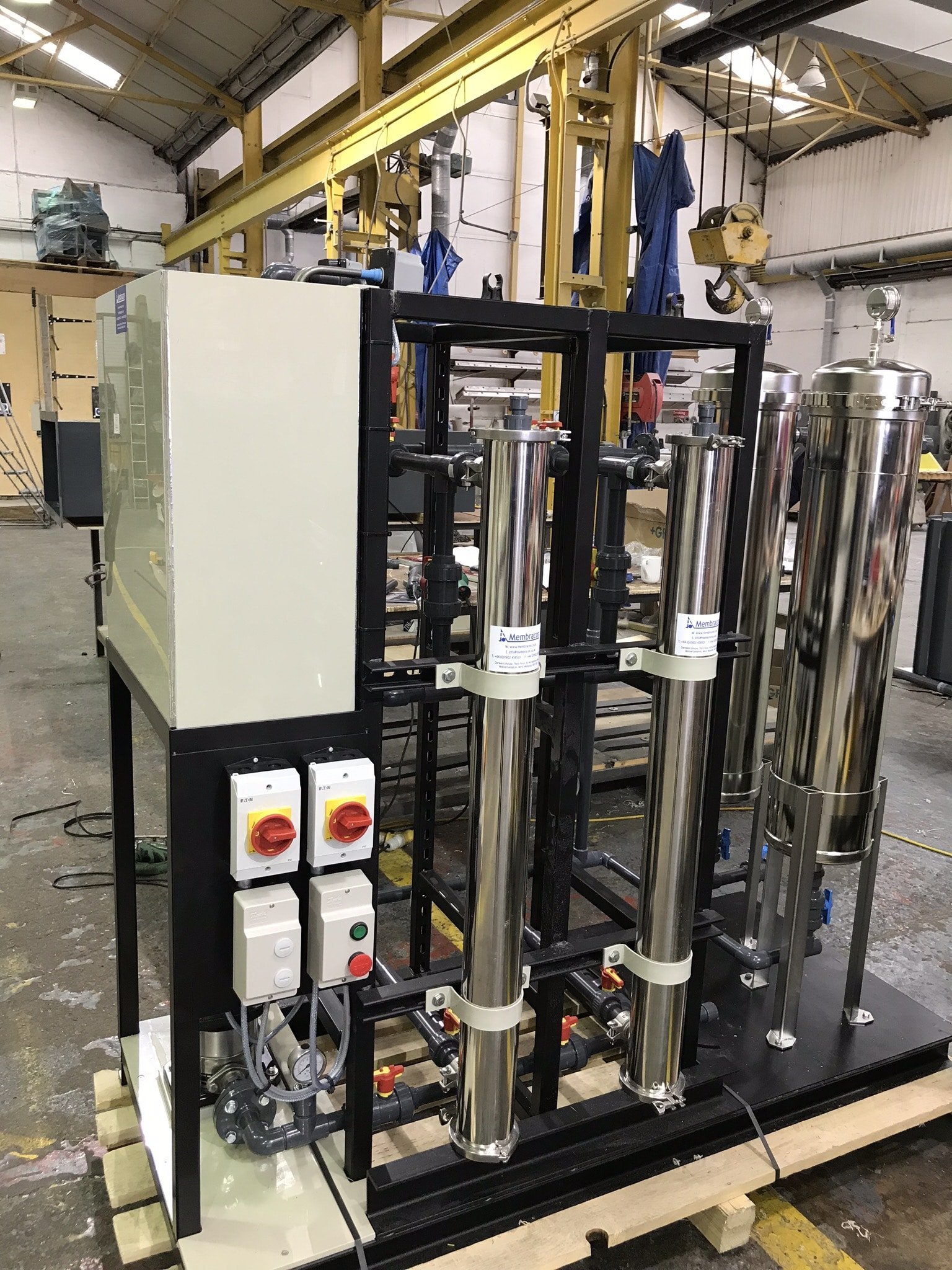 """4"""" Skid Mounted Ultrafiltration System with Prefiltration"""