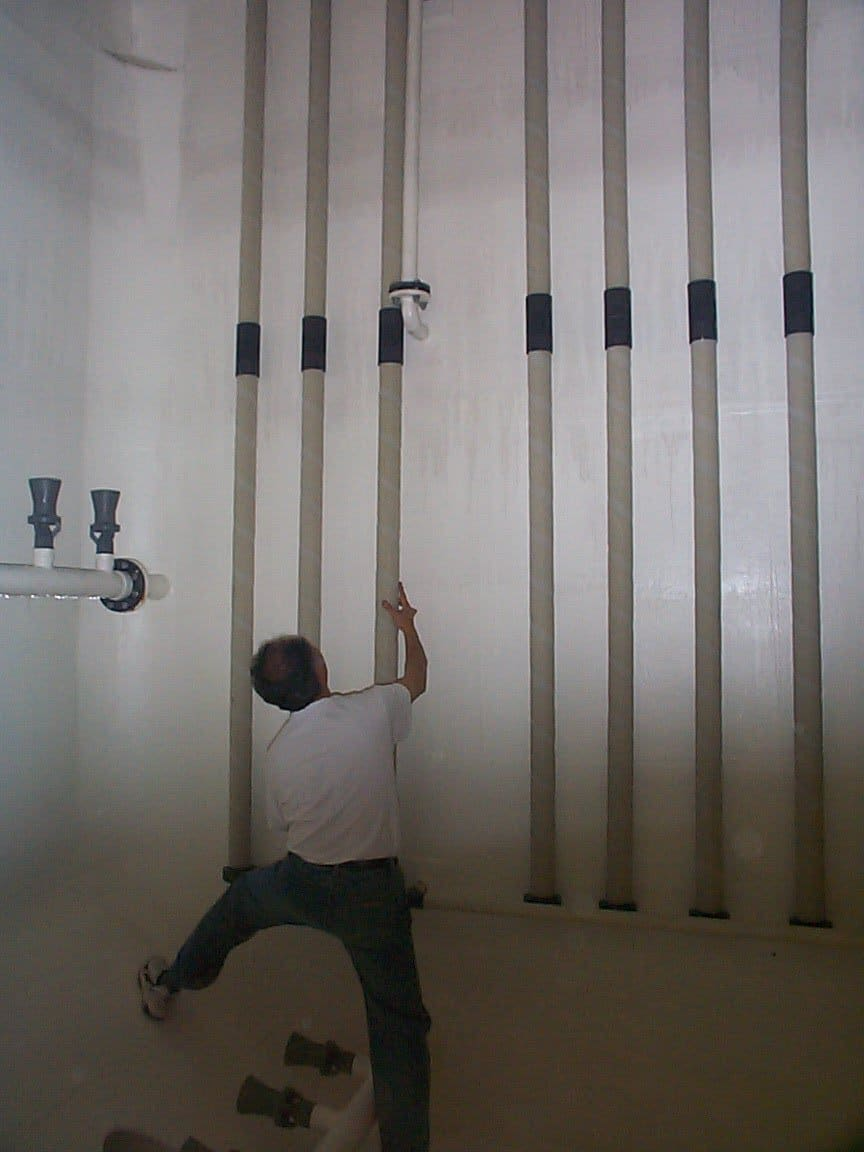 Extra Large Anodes Installation