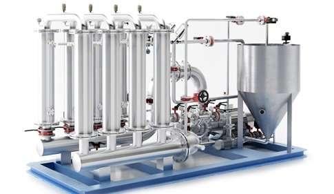 Ceramic filtration