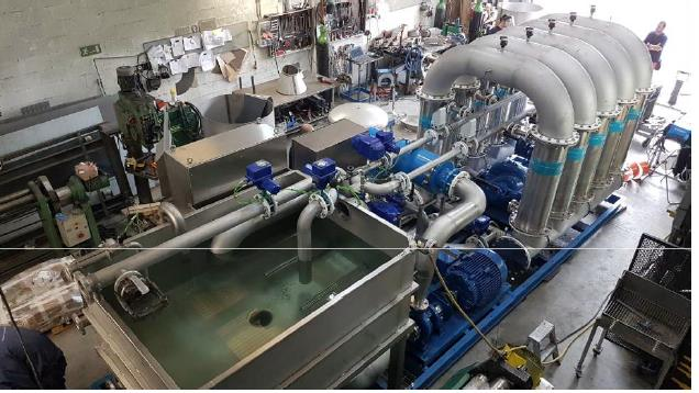 industrial wastewater treatment recycling units water management